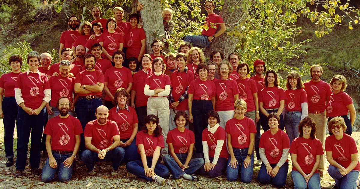 photo of Coventry Choir retreat 1983