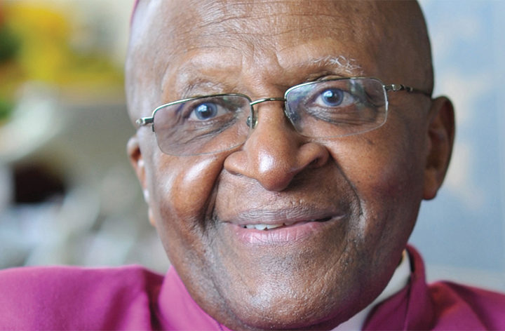 Desmond Tutu's first visit to All Saints Church