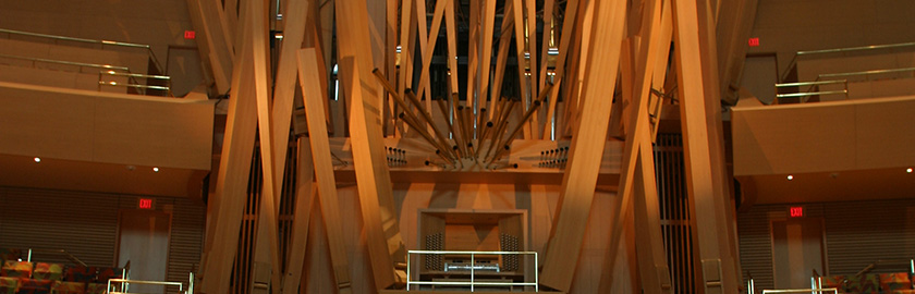 photo of Disney Hall organ
