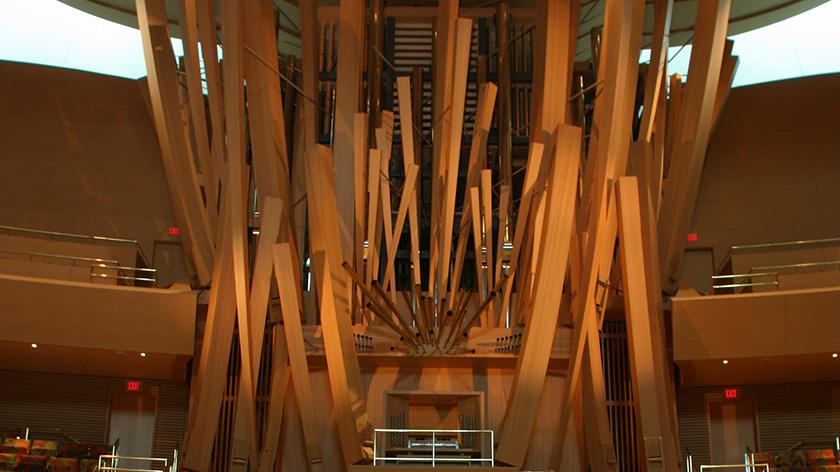 photo of Disney Hall organ