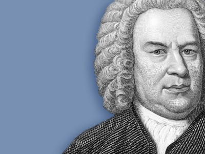 illustration of Johann Sebastian Bach