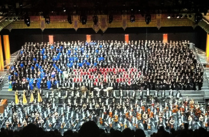 With five months of preparation, 60 members of Canterbury and Coventry choirs perform Mahler's Symphony 8