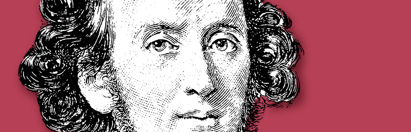 illustration of Felix Mendelssohn