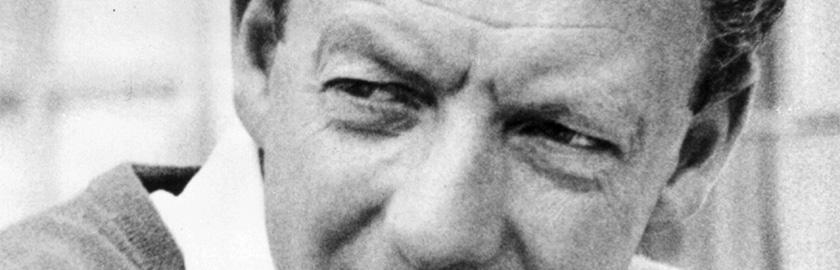 photo of Benjamin Britten
