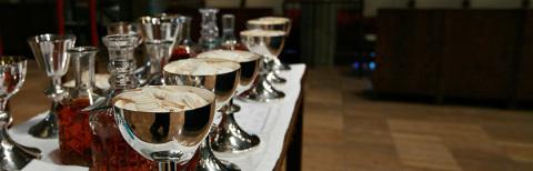 photo of eucharist table