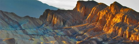 photo of Zabriskie Point, Death Valley National Park, California