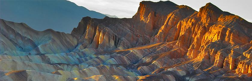 photo of Zabriskie Point, Death Valley National Park, California