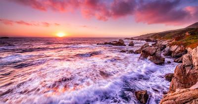 photo of California coast