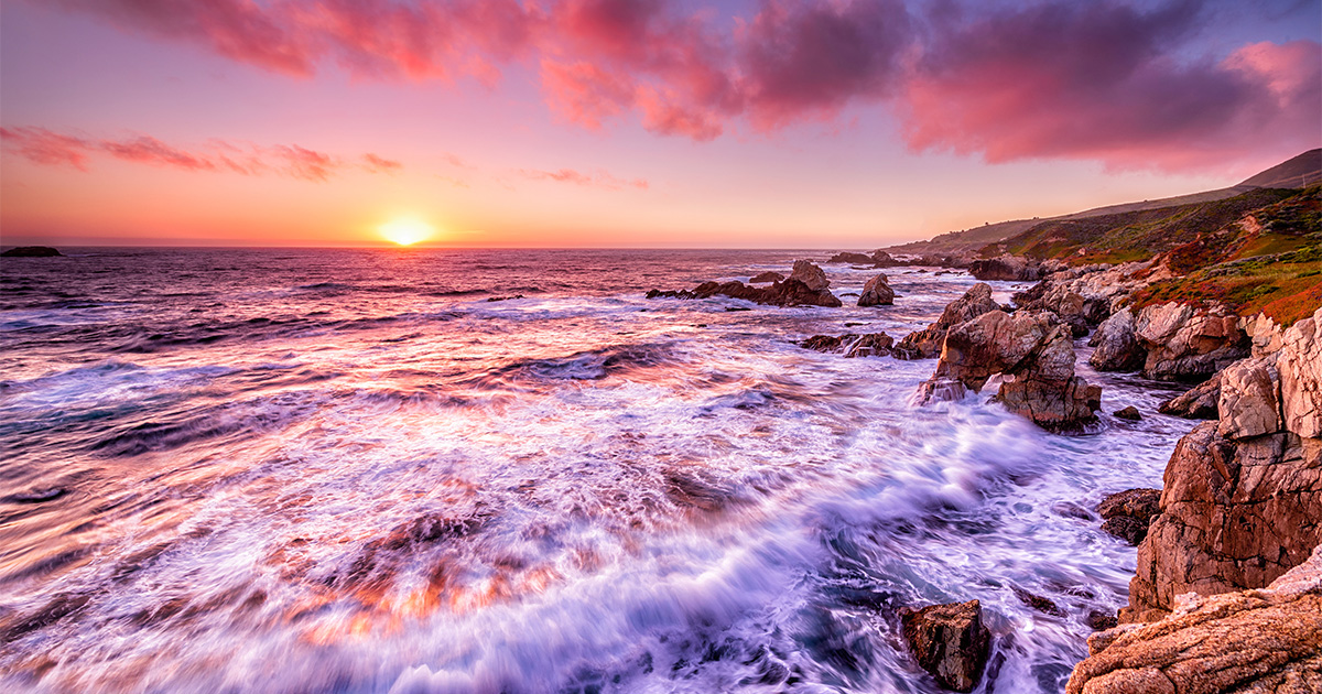 photo of California coast
