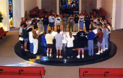 photo of Coventry Choir retreat 1999