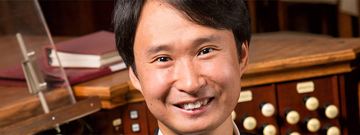 Weicheng Zhao Appointed Associate Organist-​Choirmaster