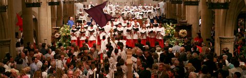 photo of Easter 2008 procession