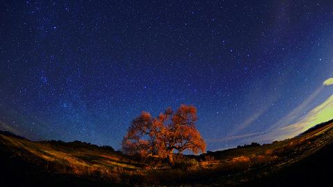 photo of skyscape in Ojai